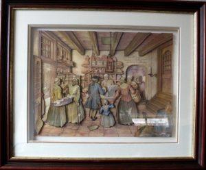 3d schilderij Anton Pieck