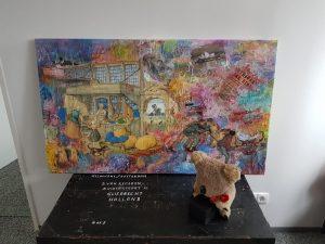 Anton Pieck Kunstwerk boven kist