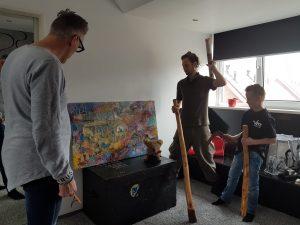 Aflevering Anton Pieck kunstwerk Arthousiast
